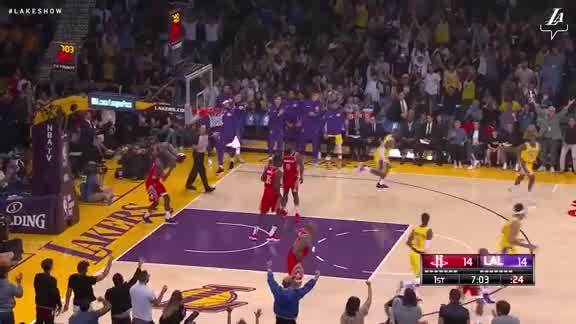 LeBron Throws it Down!