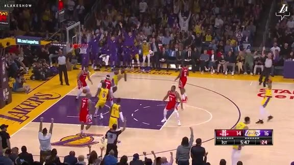 Kuzma Turns Defense into Offense