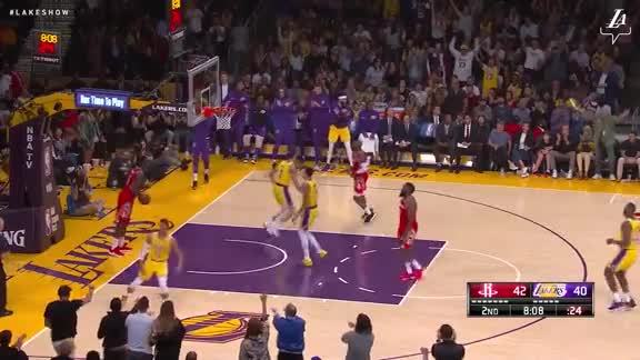 Hart's Steal and Layup