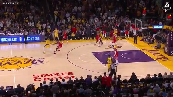 HIGHLIGHTS: Lakers vs. Rockets (10/20/18)