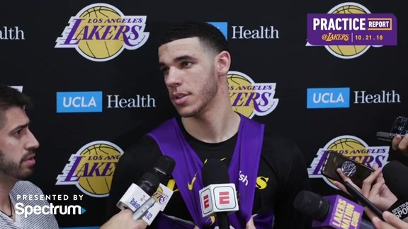 Practice Report: Lonzo Ball (10/21/18)