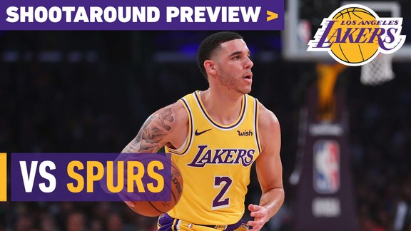 Shootaround Preview: Spurs (10/22/18)