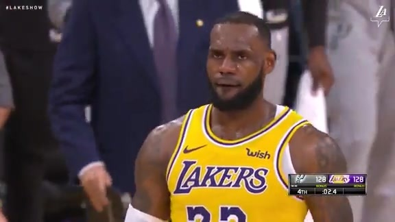 LeBron's From Deep