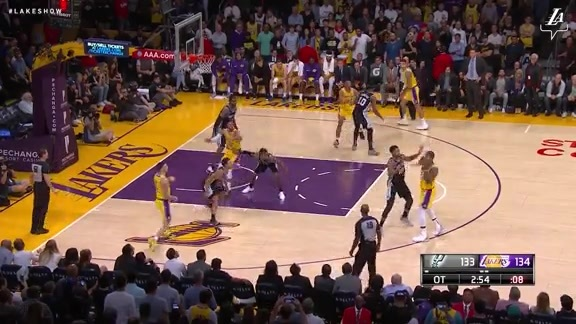 HIGHLIGHTS: Lakers vs. Spurs (10/22/18)