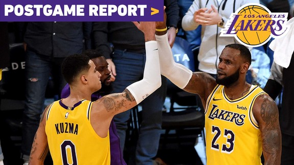 Postgame Report: Lakers Fight Back to Force OT vs San Antonio
