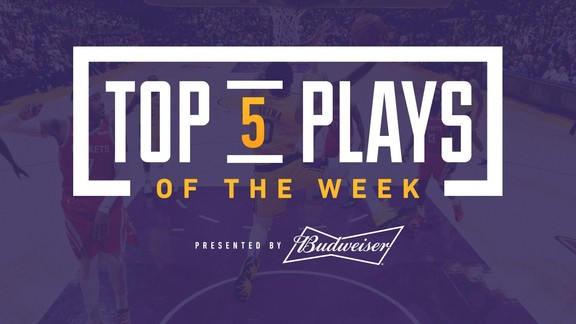 Top 5 Plays of the Week (10/23/18)