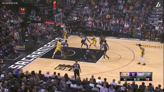 JaVale McGee Back-to-Back Dunks
