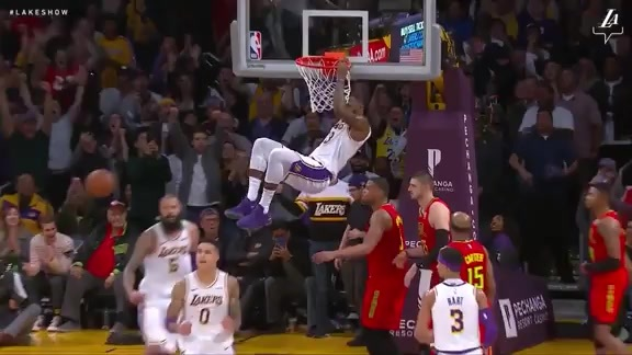 Highlights: Lakers 107, Hawks 106