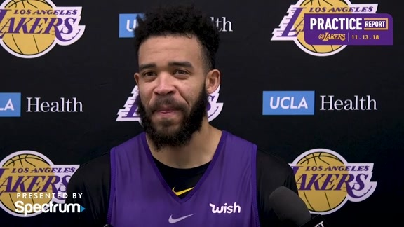 Practice Report: JaVale McGee (11/13/18)