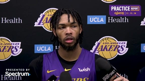 Practice Report: Brandon Ingram (11/13/18)