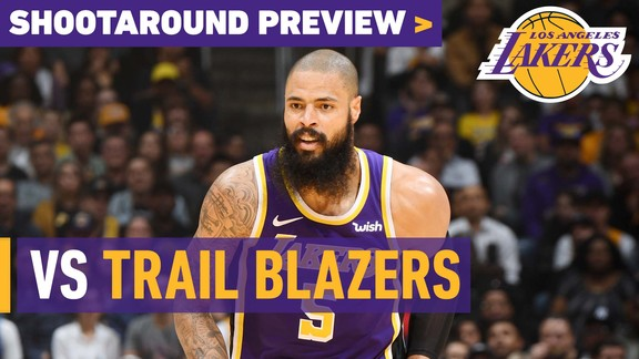 Shootaround Preview: Trail Blazers (11/14/18)