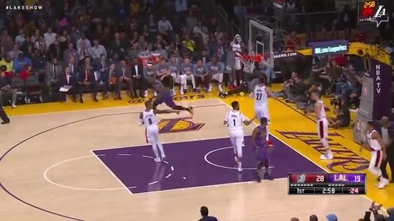 LeBron's Two-Handed Flush