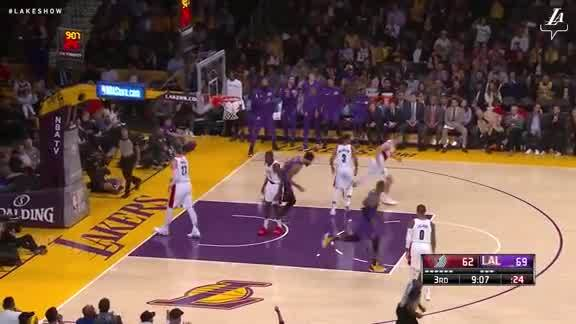 LeBron to JaVale