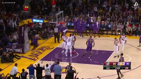 HIGHLIGHTS: Lakers vs. Trail Blazers (11/14/18)
