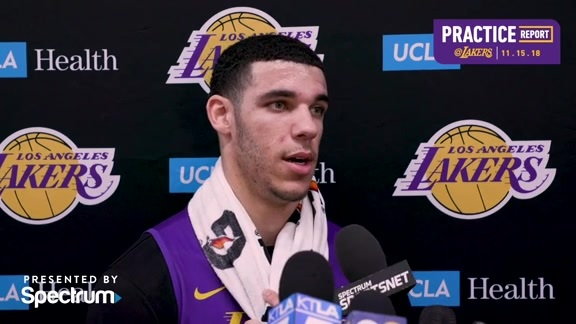 Practice Report: Lonzo Ball (11/15/18)