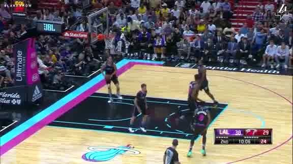 Lonzo to JaVale