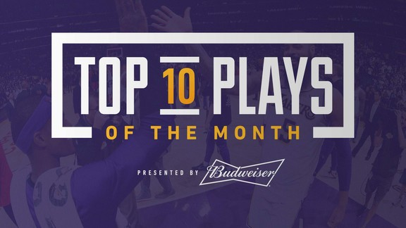 Top 10 Plays of the Month (November 2018)