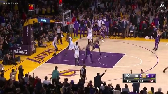 HIGHLIGHTS: Lakers vs. Spurs (12/5/18)