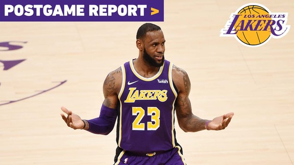 Postgame Report: Lakers Get Hot in 4th Quarter To Complete Comeback Win Over San Antonio