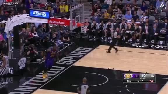 Lonzo's Steal Turns Into Two