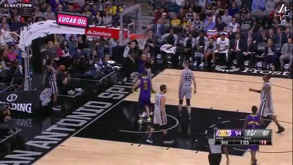 Hart Finishes Through Contact