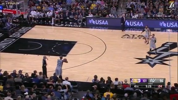 HIGHLIGHTS: Lakers vs. Spurs (12/7/18)