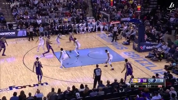 HIGHLIGHTS: Lakers at Grizzlies (12/8/18)