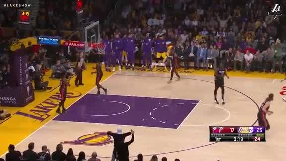 LeBron Drops the Hammer!