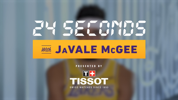 24 Seconds with: JaVale McGee