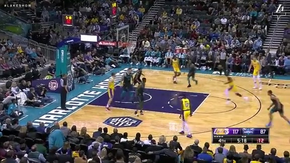 HIGHLIGHTS: Lakers vs. Hornets (12/15/18)