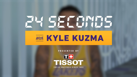 24 Seconds with: Kyle Kuzma