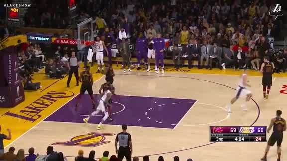 Ingram Posterizes Thompson