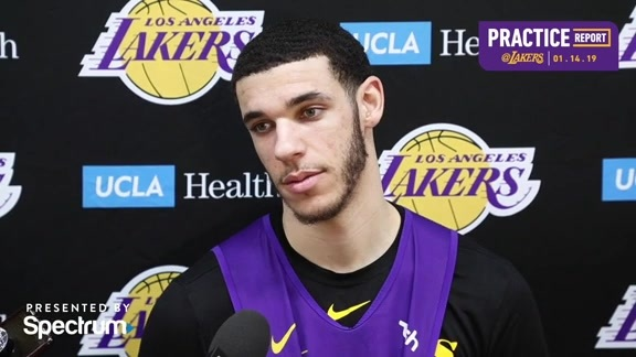 Practice Report: Lonzo Ball (1/14/19)