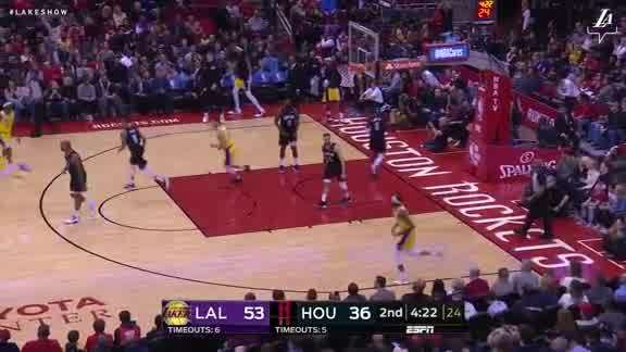 Ingram's Save to Kuzma