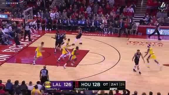 Ingram Beats the Shot Clock