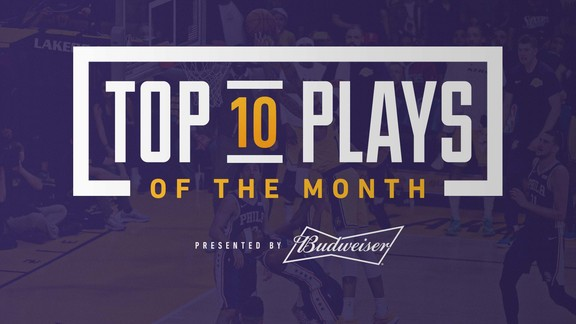 Top 10 Plays of the Month (January 2019)