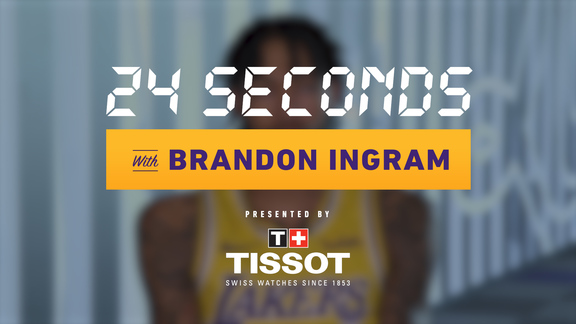 24 Seconds with: Brandon Ingram