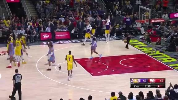 Ingram's Steal and Finish