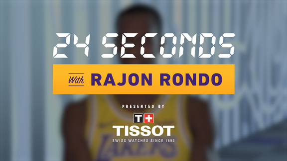 24 Seconds with: Rajon Rondo