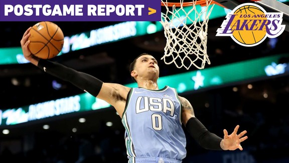 Postgame Report: Kuzma's Laker-Record 35 Lands Him Rising Stars MVP Honors