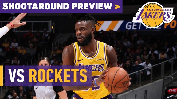 Shootaround Preview: Rockets (2/21/19)