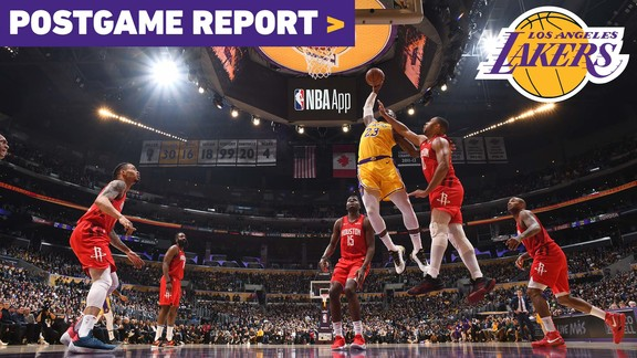 Postgame Report: Lakers Overcome 19-Point Second Half Deficit To Defeat Houston