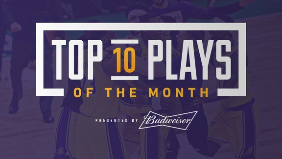 Top 10 Plays of the Month (February 2019)