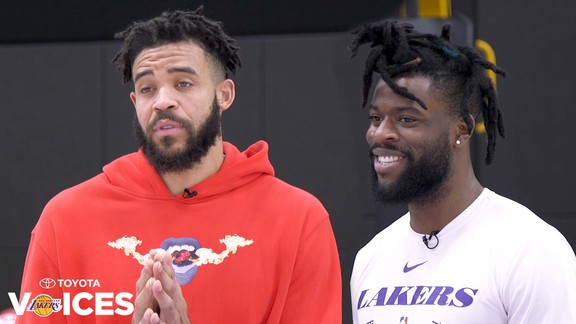 Lakers Voices: JaVale McGee & Reggie Bullock (3/7/19)
