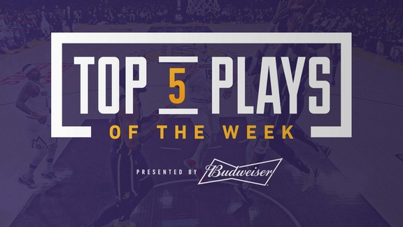 Top 5 Plays of the Week (3/11/19)