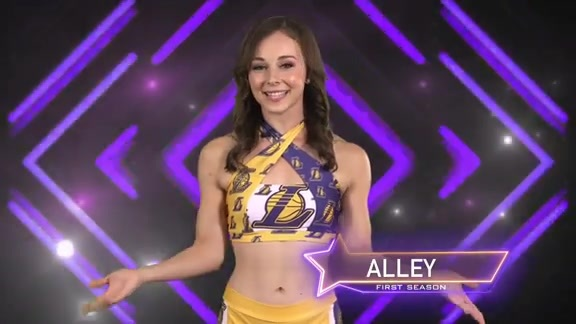 Laker Girl Profile - Alley