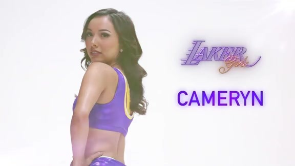 Laker Girl Profile - Cameryn