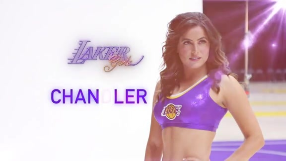 Laker Girl Profile - Chandler