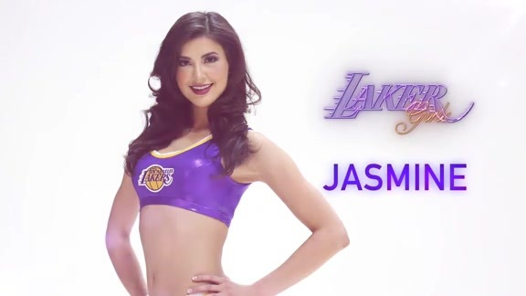 Laker Girl Profile - Jasmine