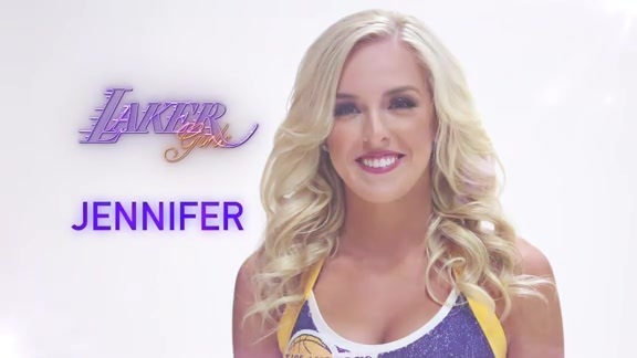 Laker Girl Profiles - Jennifer